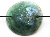 Afghan Ancient Roman Glass Pendant 44mm (AF617)