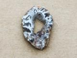 Montana Agate Gemstone Druzy Slab Pendant 31mm (GSP1908)