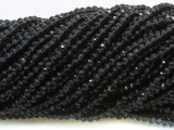 Black Crystal Glass Beads 4mm (CRY467)