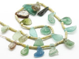 Afghan Ancient Roman Glass Beads (AF1727)