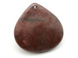 Red Creek Jasper Teardrop Pendant 45mm (GSP1937)