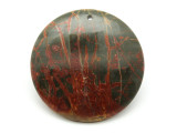 Red Creek Jasper Round Pendant 45mm (GSP1954)