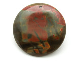 Red Creek Jasper Round Pendant 44mm (GSP1955)