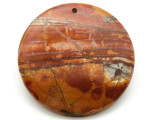 Red Creek Jasper Round Pendant 50mm (GSP1960)