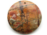 Red Creek Jasper Round Pendant 50mm (GSP1966)