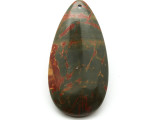Red Creek Jasper Teardrop Pendant 60mm (GSP1991)