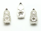 Nesting Doll - Pewter Pendant 27mm (PW915)