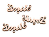 "Copper ""Smile"" - Pewter Pendant 32mm (PW919)"