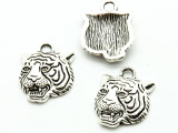 Tiger - Pewter Pendant 22mm (PW935)