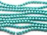 Turquoise Howlite Round Gemstone Beads 8mm (GS4502)