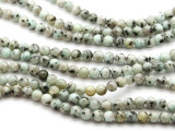 Kiwi Jasper Round Gemstone Beads 8mm (GS4503)