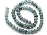 Kyanite Irregular Round Gemstone Beads 6-8mm (GS4505)