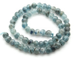 Kyanite Irregular Round Gemstone Beads 7mm (GS4507)