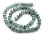 Kyanite Irregular Round Gemstone Beads 6-7mm (GS4509)