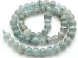 Kyanite Irregular Round Gemstone Beads 7-8mm (GS4513)