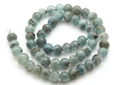Kyanite Irregular Round Gemstone Beads 8-9mm (GS4514)