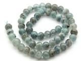 Kyanite Irregular Round Gemstone Beads 8-9mm (GS4514)