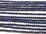 Lapis Lazuli Faceted Round Gemstone Beads 4mm (GS4522)