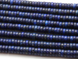 Lapis Lazuli Heishi Gemstone Beads 8mm (GS4523)