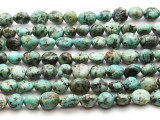 "African ""Turquoise"" Jasper Nugget Gemstone Beads 9-13mm (GS4529)"