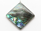 Abalone Square Shell Pendant 44mm (AP1981)