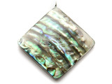 Abalone Square Shell Pendant 44mm (AP1983)