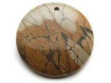 Red Creek Jasper Gemstone Pendant 40mm (GSP2031)