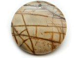 Red Creek Jasper Gemstone Pendant 40mm (GSP2034)