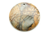 Red Creek Jasper Round Pendant 50mm (GSP2128)