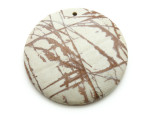 Red Creek Jasper Round Pendant 50mm (GSP2134)