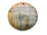Red Creek Jasper Round Pendant 50mm (GSP2135)
