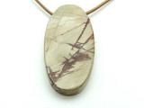 Red Creek Jasper Oval Pendant 60mm (GSP2141)