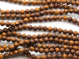 Cobra Jasper Round Gemstone Beads 6mm (GS4552)