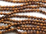 Cobra Jasper Round Gemstone Beads 6mm (GS4552)