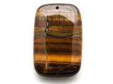 Tiger Eye Rectangle Pendant 55mm (GSP2058)