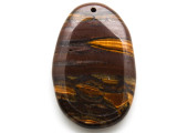Tiger Eye Oval Pendant 59mm (GSP2059)