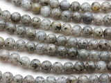Sesame Jasper Round Gemstone Beads 8mm (GS4587)