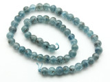 Kyanite Round Gemstone Beads 7-8mm (GS4591)