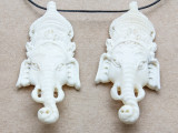 Ganesha Water Buffalo Pendant 65mm (AP2023)
