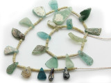 Afghan Ancient Roman Glass Beads (AF1745)