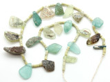 Afghan Ancient Roman Glass Beads (AF1749)