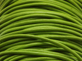 "Spring Green Leather Cord 2mm - 36"" (LR91)"
