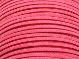 "Pink Suede Leather Lace 2.5mm - 36"" (LR98)"