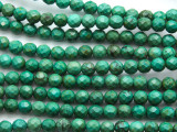 Turquoise Faceted Round Beads 6mm (TUR1314)