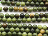 Green Jade Round Gemstone Beads 8mm (GS4611)