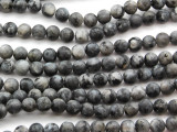 Matte Labradorite Round Gemstone Beads 6mm (GS4616)