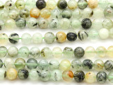 Prehnite Round Gemstone Beads 8mm (GS4629)