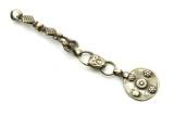 Afghan Tribal Silver Pendant - Amulet 108mm (AF747)