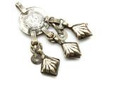 Afghan Tribal Silver Pendant - Amulet 77mm (AF749)