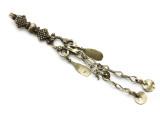 Afghan Tribal Silver Pendant - Amulet 128mm (AF754)